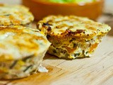 Tuna, Sweet Potato and Corn Frittatas