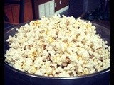 Popcorn with Nutritional Yeast Flakes