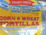 Trader Joes Corn and Wheat Tortillas