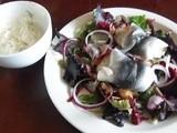Rollmop/Pickled Herring Salad