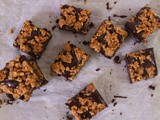 Gluten-Free Peanut Butter Crunch Brownies