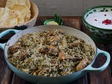 Methi Chicken Pulao (Pilaf)