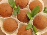 The Food Desert Project - Cocoa-Date Bourbon Balls