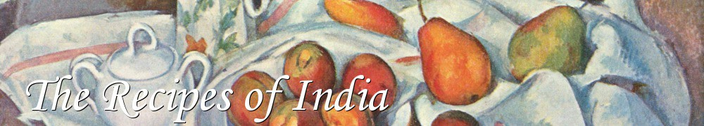 Very Good Recipes - The Recipes of India