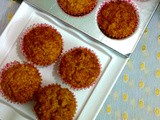 Carrot Apple Muffins - My 8th Guest Post