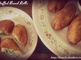 Potato Stuffed Bread Rolls - My 3rd Guest Post