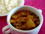 Qeema Matar Aloo | Minced meat with Peas and Potatoes