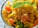 Corn Chaat Recipe, How To Make Masala Corn Chaat |Chaat Recipes