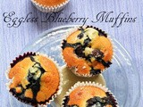 Eggless blueberry muffins, how to make eggless blueberry muffins | best blueberry muffin recipe