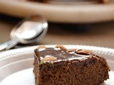 Eggless chocolate cake recipe, How to make eggless chocolate cake | Eggless cake with condensed milk