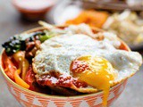 Korean Bibimbap recipe | Chicken Bibimbap recipe