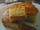 Easy eggless butterless lemon cake