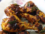 Low fat kerala style chicken fry