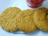Oats- whole wheat cookies