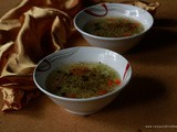 Vegetable clear soup recipe | Easy homemade vegetable clear soup