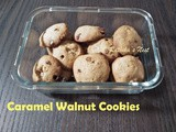 Caramel Walnut Cookies
