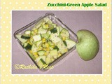 Zucchini - Green Apple Salad