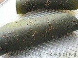 Dill and Caraway Wraps (with Spirulina)