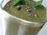 Green Mint Coffee Choco Chip Smoothie
