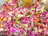 Rawfully Tempting's Sensational Red Cabbage Slaw
