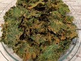 Spicy Orange Fennel Kale Chips