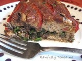 Spinach Stuffed Nut Meat Loaf