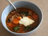 Adaptation: Mexican Hamburger Soup