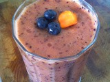 Blueberry Banana Carrot Smoothie