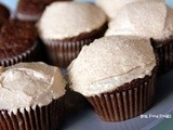 Chocolate Ginger Sourdough Cupcakes