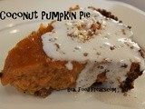 Coconut Pumpkin Pie, Grain Free