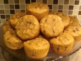 Not So Chunky Monkey (Grain Free) Muffins