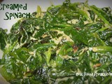 Simple Creamed Spinach (Dairy Free)