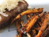 Spicy Cumin Carrot Fries