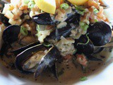 Mussels in Maras Sauce Recipe from Truffle Pigs Bistro