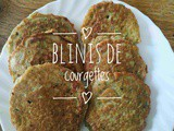 Blinis de courgettes extra