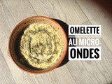Omelette au micro ondes