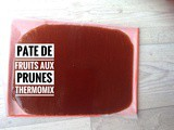 Pate de fruits aux prunes