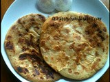 A Perfect Combo : Paneer Paratha and Kadai Chole