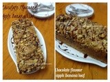 Chocolate Flavoured Applw Banana Breakfast Loaf