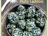 Dates, Oats & Mixed Nuts Laddoo for Diwali