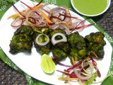 Hariyali Chicken Tikka with Green Chutey