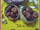 Janmashtami with Bengal's favorite Tal-er Bora/Asian Palm sweet Fritters