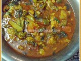 Loitta macher Jhol and Jhuri Bhaja(Bombay Duck curry and dry fry)