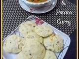 Masala Idli and Potato Curry (South Indian Style)
