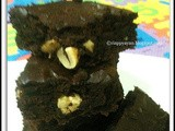 Melt-in-mouth Eggless Nut Brownie
