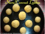 Narkel Naru/Soft Coconut Laddoos for Diwali/Deepavali ii Other Diwali Sweets
