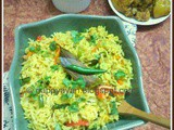 Poila Baishakh celebration with Veg Pulao and Chicken Kasha