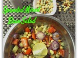 Sprouted Mixed Beans Salad ~ How to grow Sprouts at home