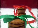 WIshing everyone a Very Merry Christmas with Honey Ginger Cookies