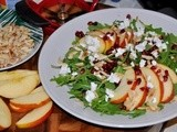 Arugula Apple Pomegranate Salad